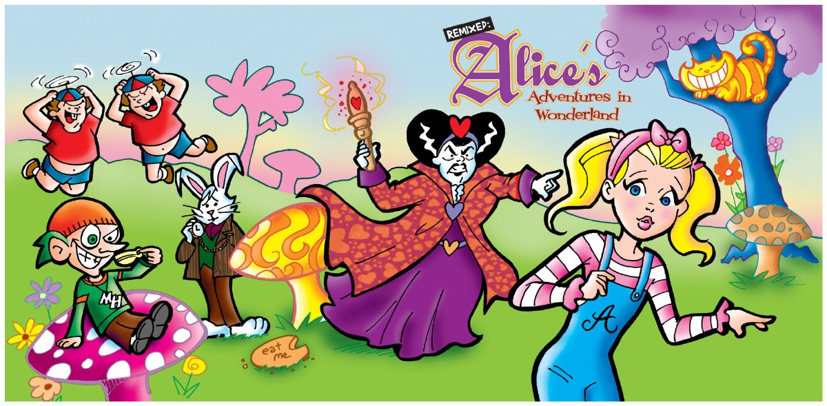Larger picture of our Alice's Adventures in Wonderland, Audio Book