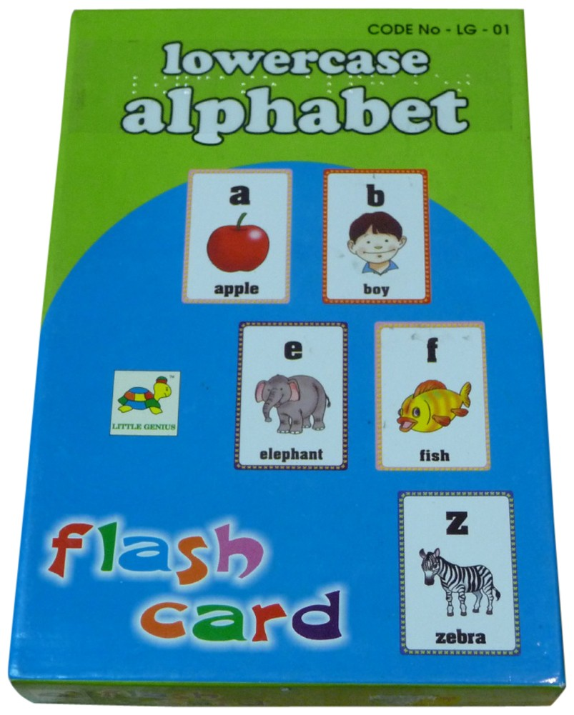 Picture picture of our Alphabet Flash Cards