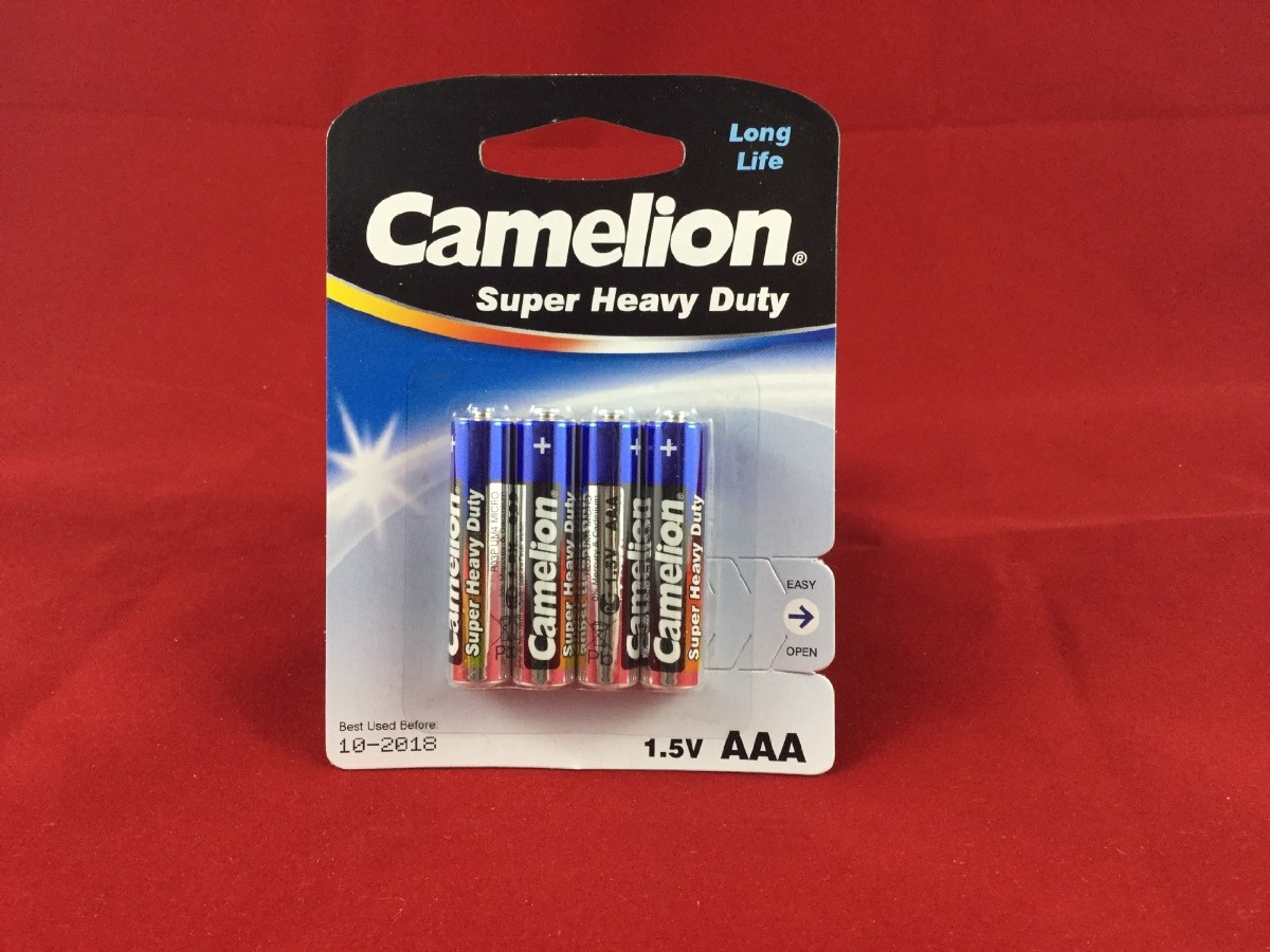 Larger picture of our AAA Batteries, Four-Pack