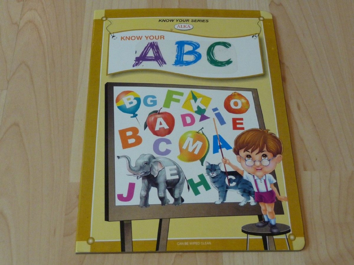 Picture picture of our Know and Learn, Braille Board Book
