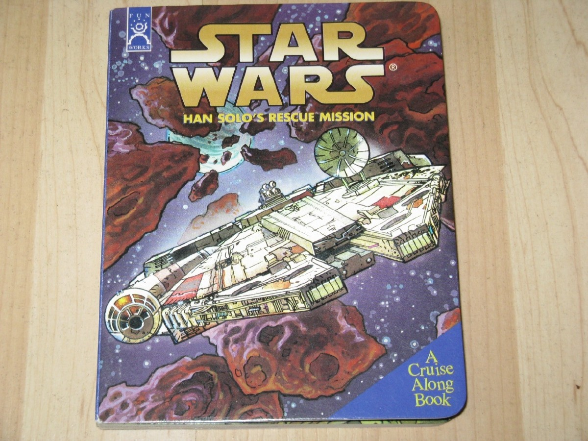 Picture picture of our Star Wars, Han Solo, Rescue Mission, Braille Board Book