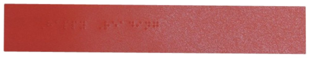 Picture picture of our Braille Number Bookmark, 10-Count
