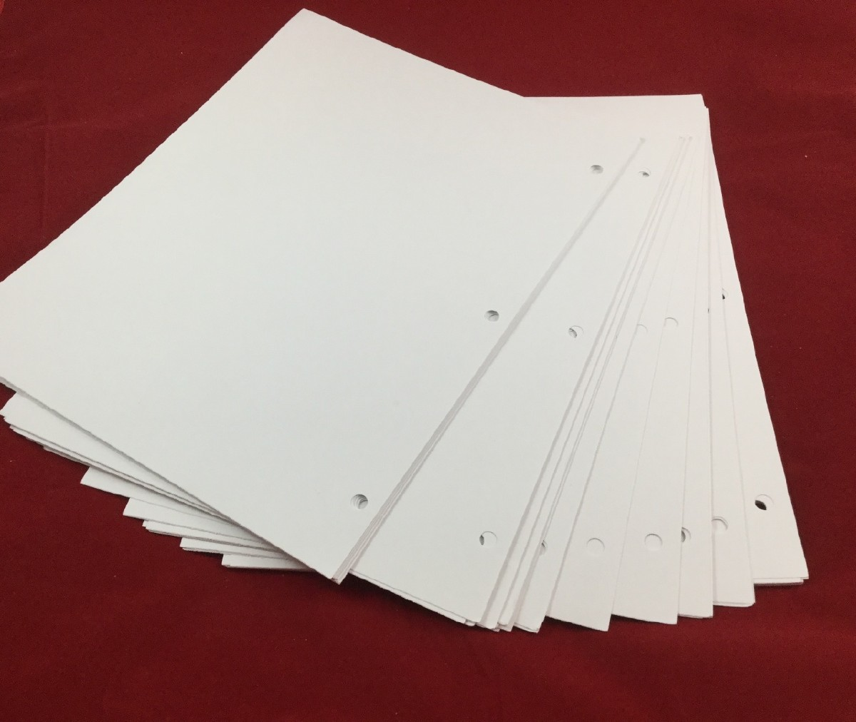 Larger picture of our Braille Paper, Three-Hole Punched
