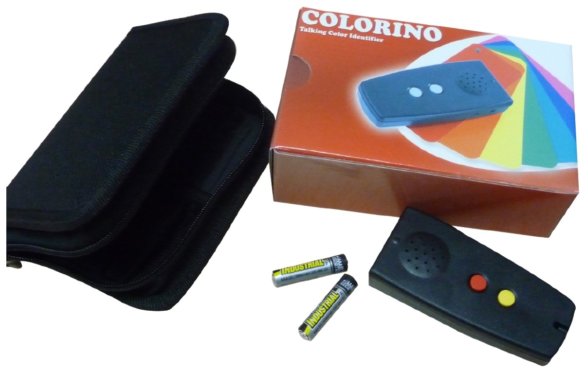 Picture picture of our Colorino Talking Color Identifier