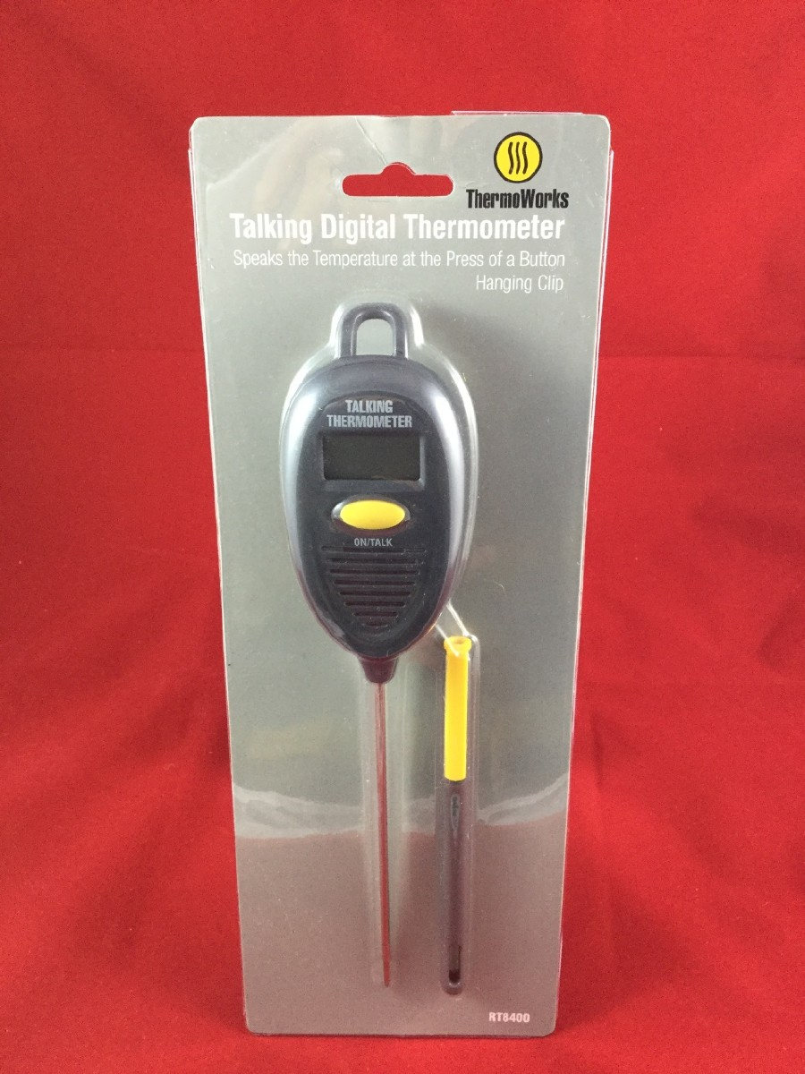 Larger picture of our Talking Cooking Thermometer