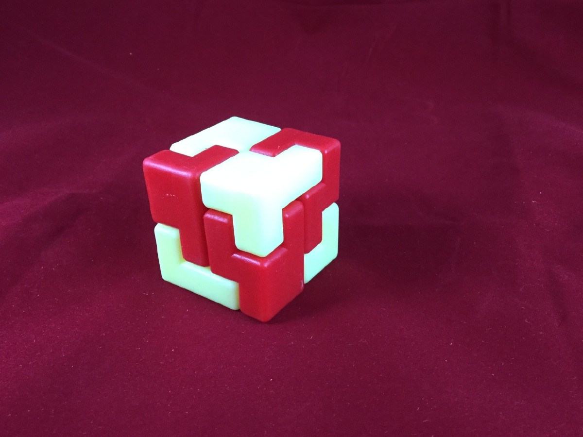 Picture picture of our Plastic Cube Puzzle