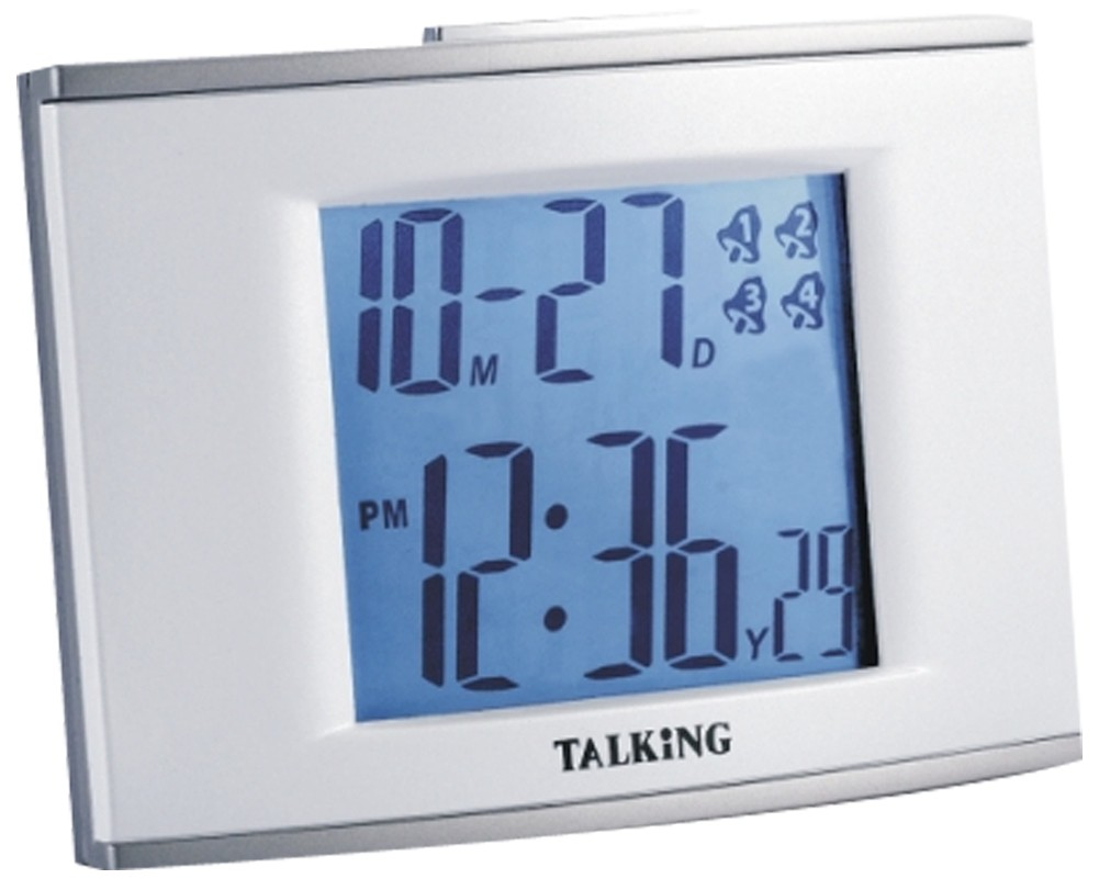 Larger picture of our Deluxe Talking Clock