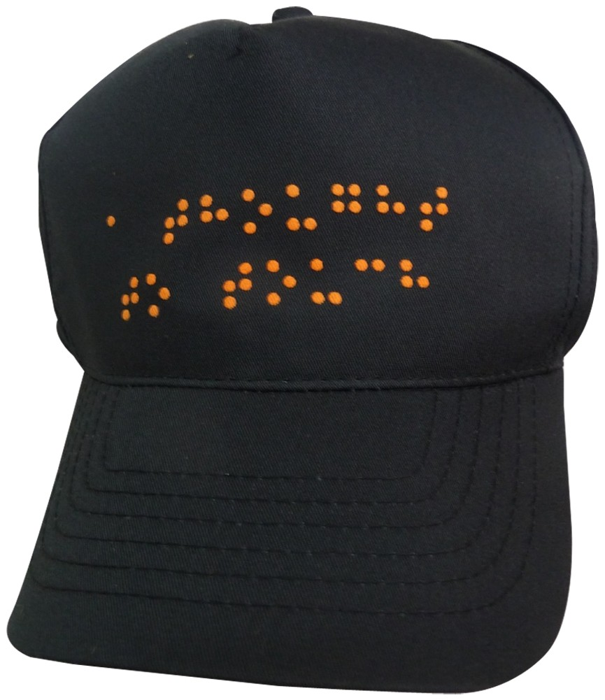 Picture picture of our Braille Hat