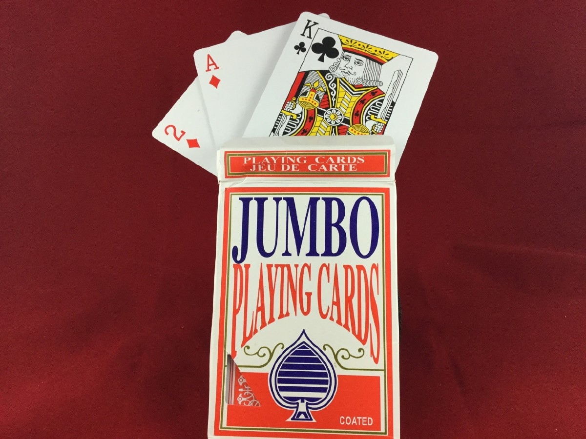 Picture picture of our Jumbo Playing Cards