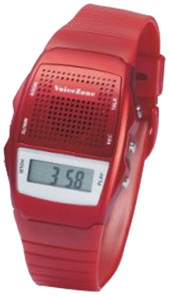 Larger picture of our Talking Memo Watch