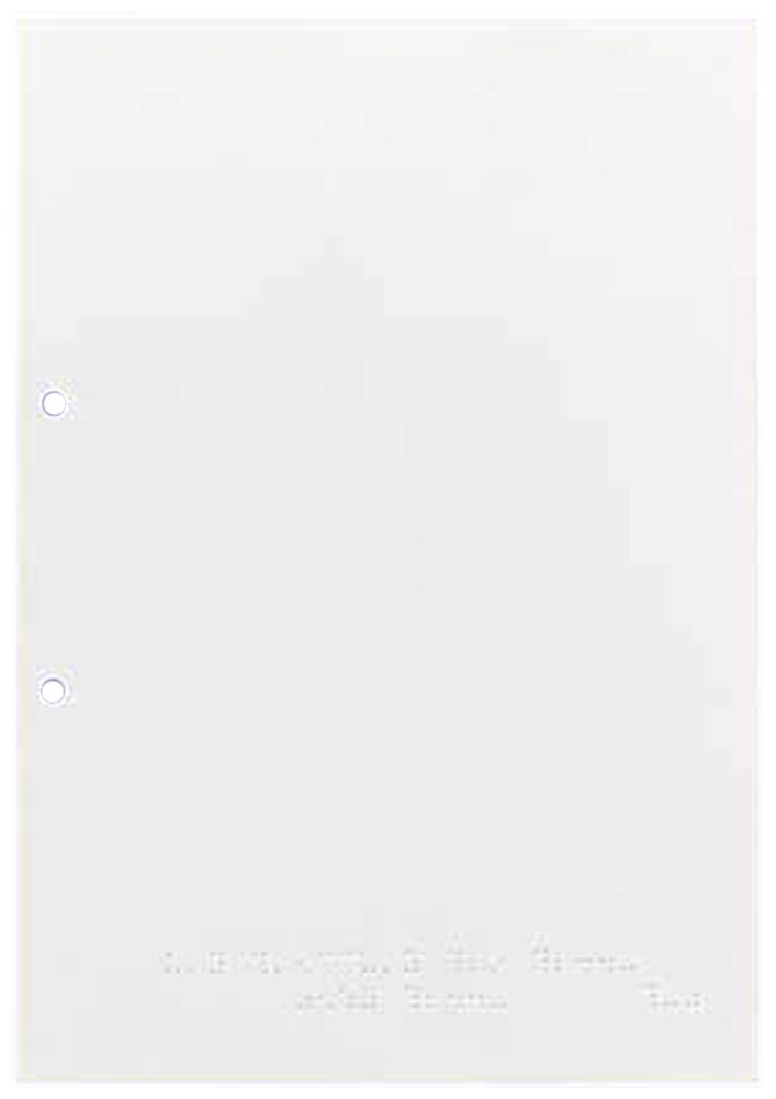Picture picture of our Braille Paper, A4-Size