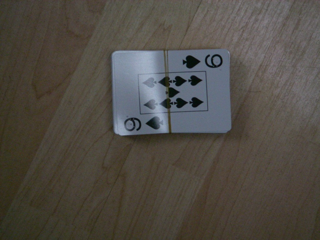 Different picture of our Braille Playing Cards, Plastic