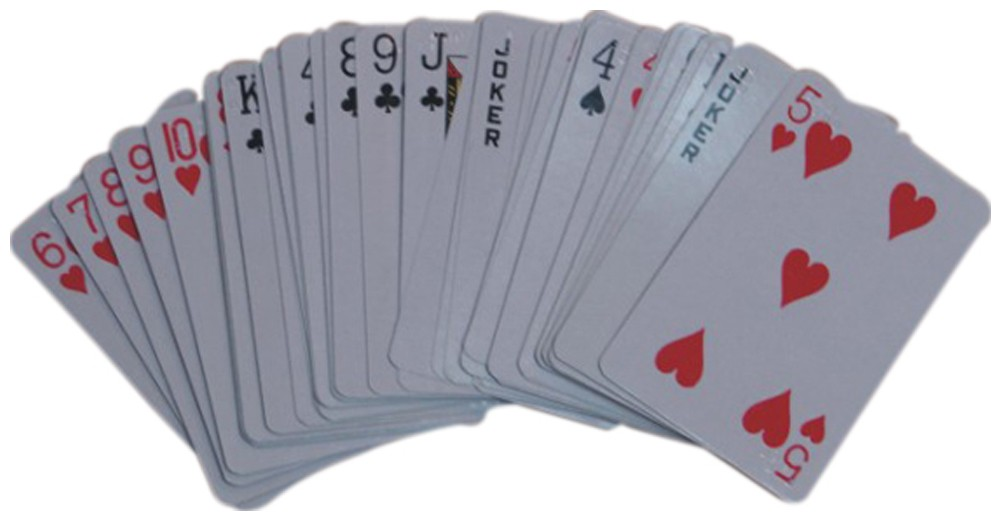 Picture picture of our Braille Playing Cards, Regular