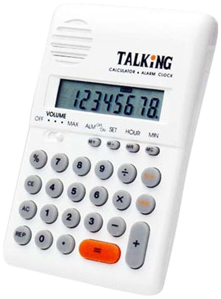 Picture picture of our Talking Pocket Calculator
