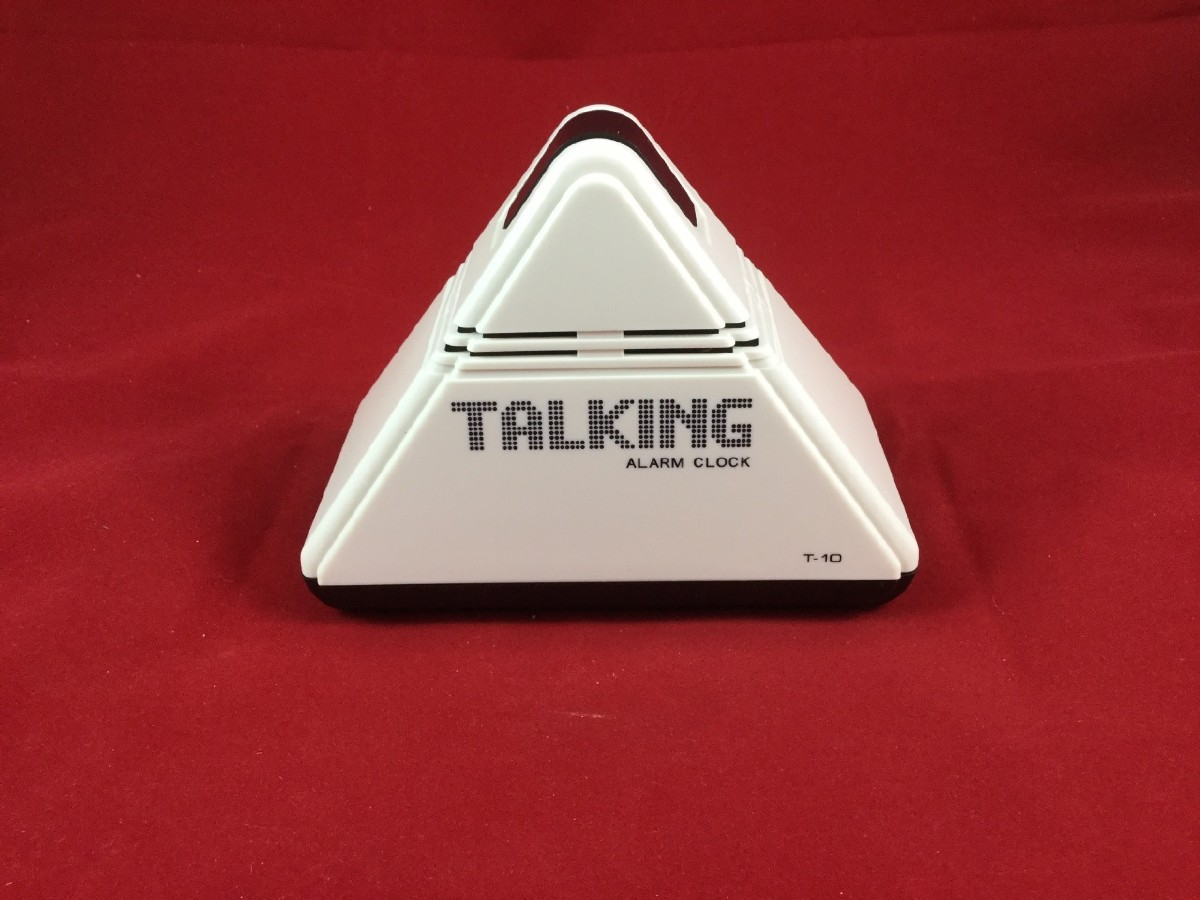 Picture picture of our Pyramid Talking Clock