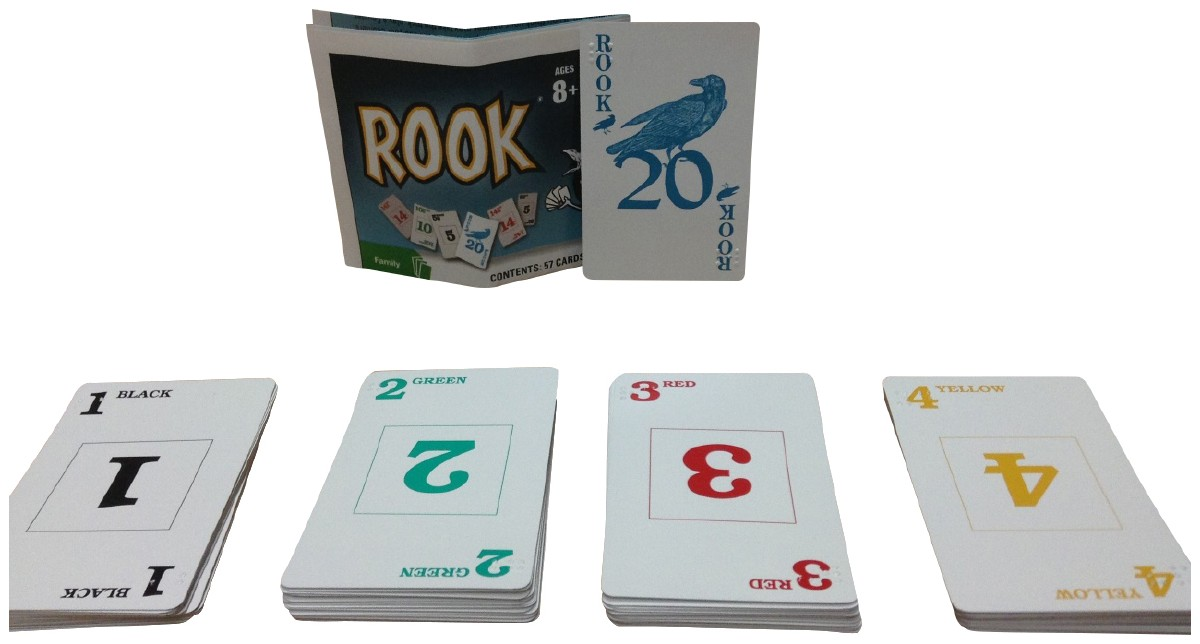 Picture picture of our Braille Rook Cards