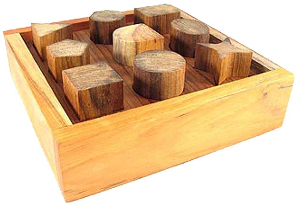 Picture picture of our Wooden Shape Sorter