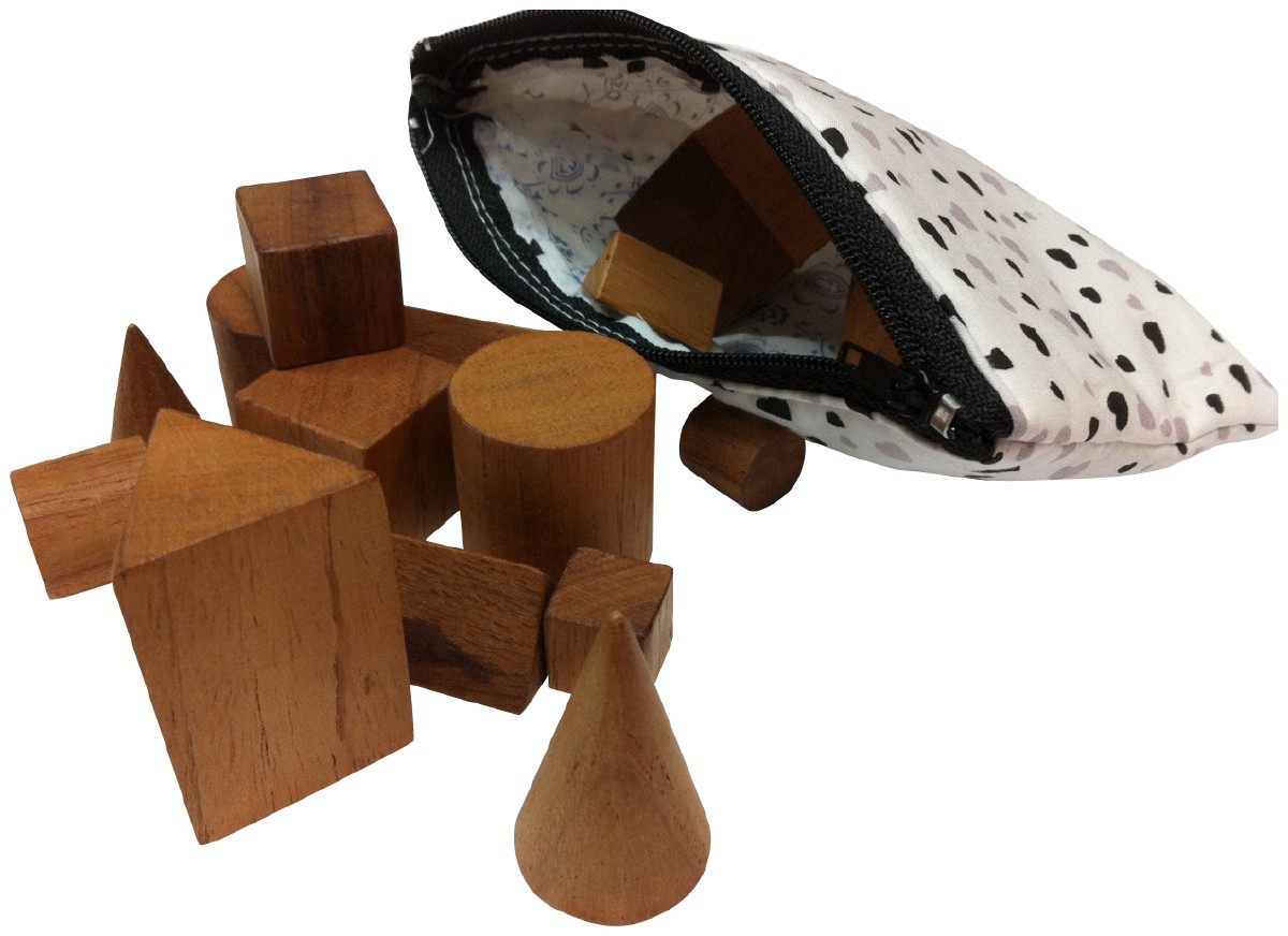 Picture picture of our Wooden Shape Set