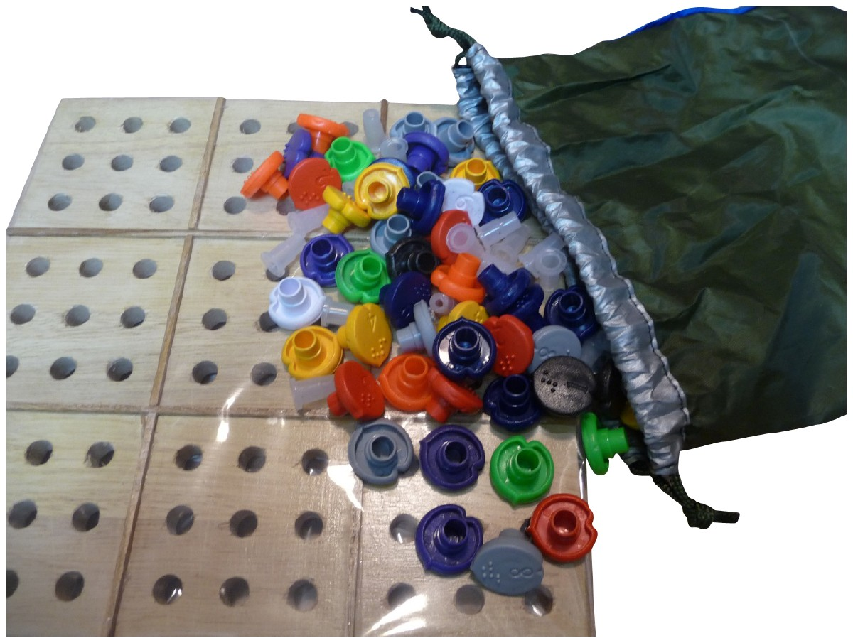 Larger picture of our Braille Sudoku Set