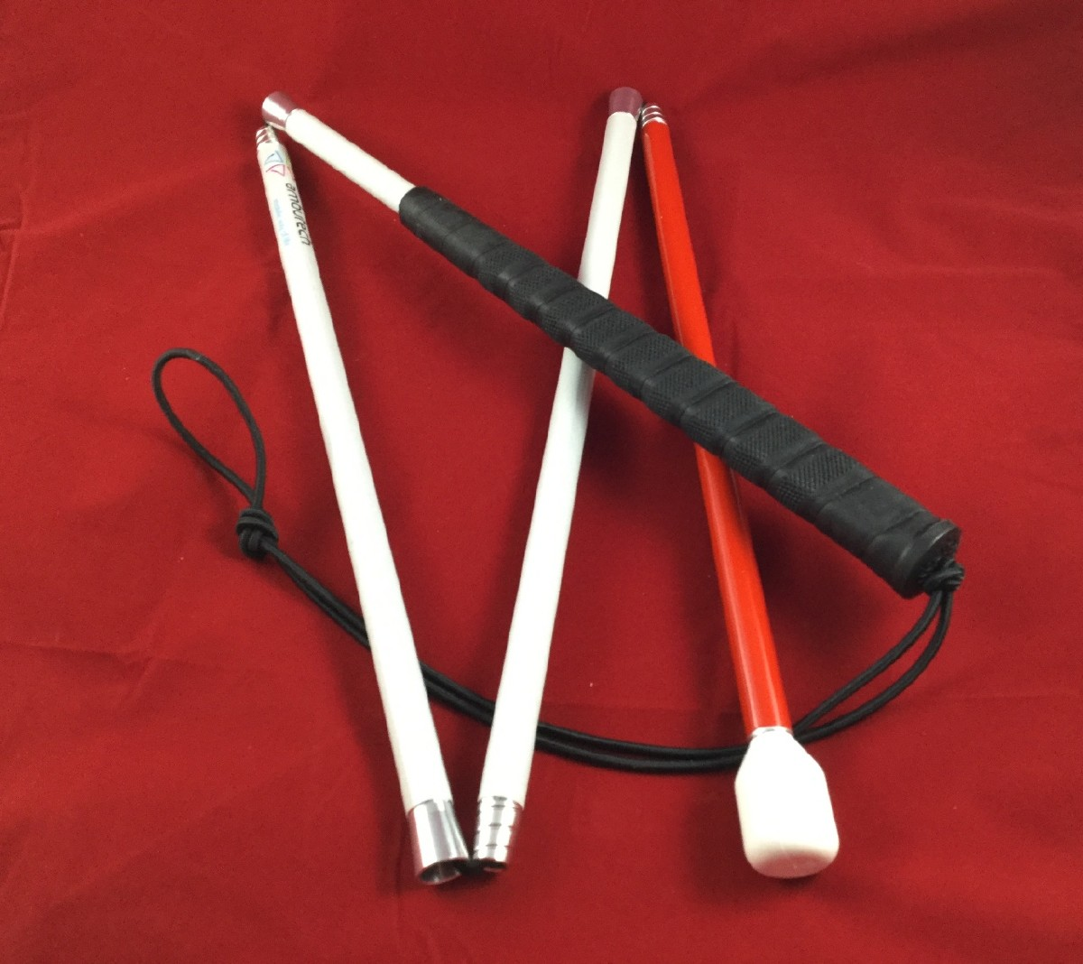 Picture picture of our Folding White Cane