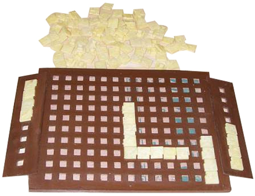 Larger picture of our Braille Word Board